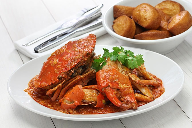 OBOC chili crab image One island: A world of flavors to discover