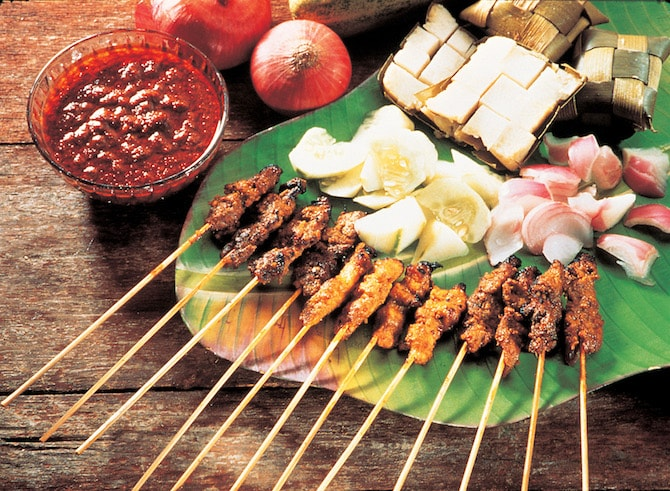 STB Satay min One island: A world of flavors to discover