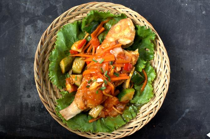 recipe for sweet and sour whole fish