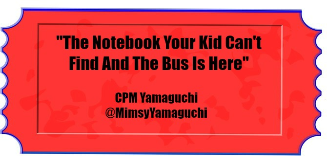 The Notebook Your Kid Can't Find and the Bus Is Here