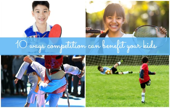 10 ways kids can benefit from healthy competition