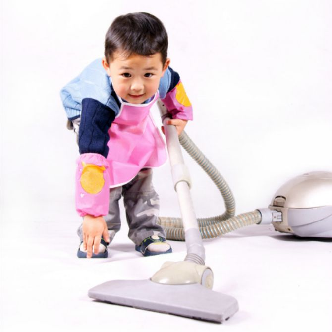 Refuse to let your child help with household chores