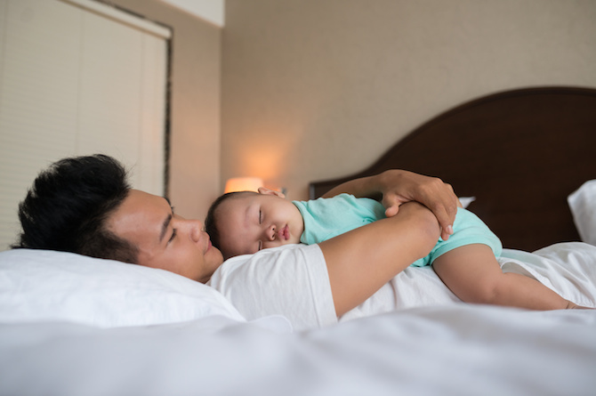 13. Offer to take care of your child so she could have her time.