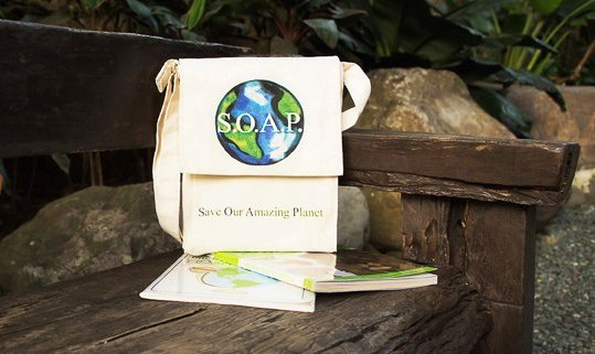 By Nature Save Our Amazing Planet (S.O.A.P.) Book Bag P390