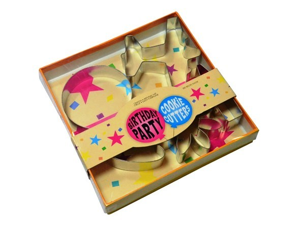 Birthday Party Cookie Cutters P485