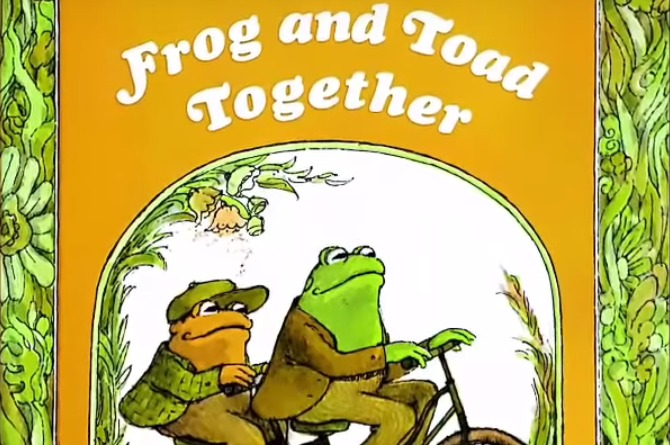 'Frog and Toad' series Arnold Lobel