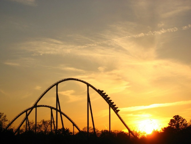 Together, you experience the rollercoaster of life