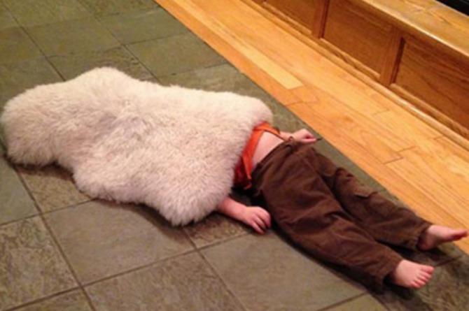 8 Kids who stink at hide and seek