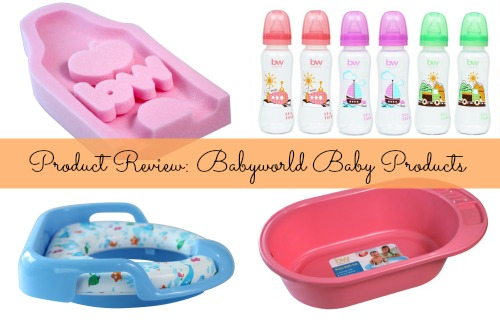 Product Review: Babyworld Baby Products