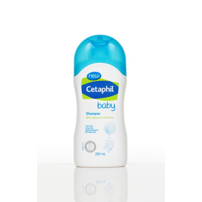 For baby's sweet-smelling head: Cetaphil Baby Shampoo