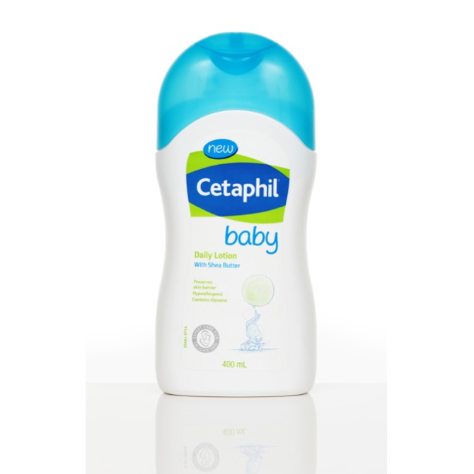 For everyday skin protection: Cetaphil Baby Daily Lotion