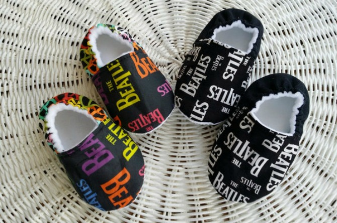 Beatles baby shoes