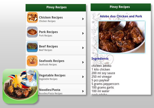 Pinoy Food Recipes by Cyber Ednalan
