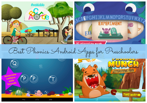 Best Phonics Android Apps for Preschoolers