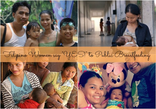 "Filipino Women say ""Yes!"" to Public Breastfeeding"