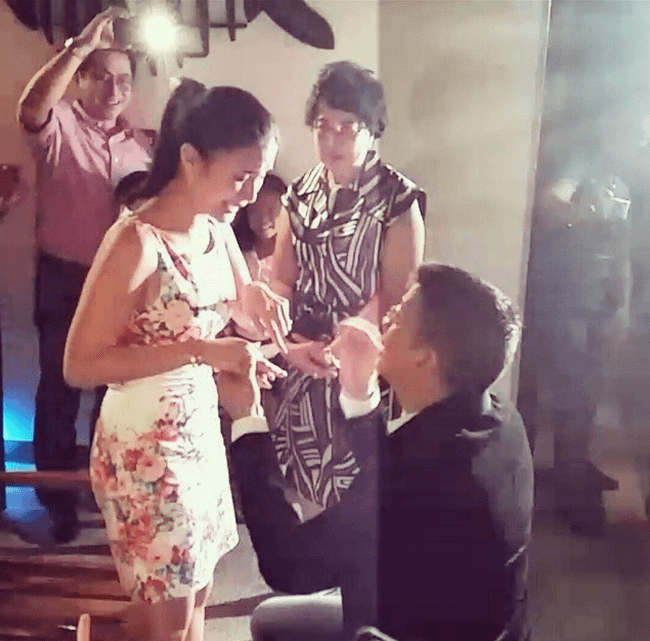 Heart and Chiz: Their engagement