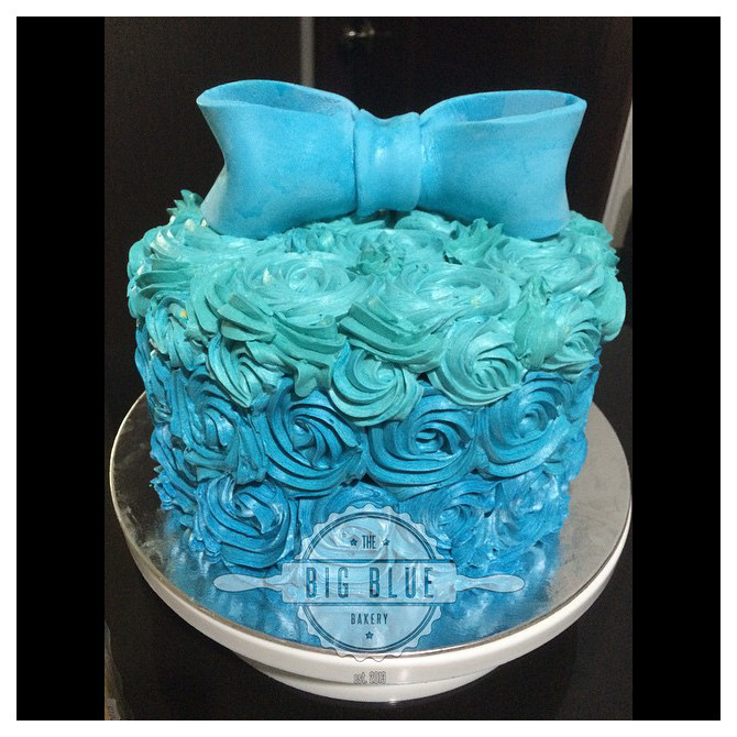 The cutest things you'll see today are cakes by @thebigbluebakery