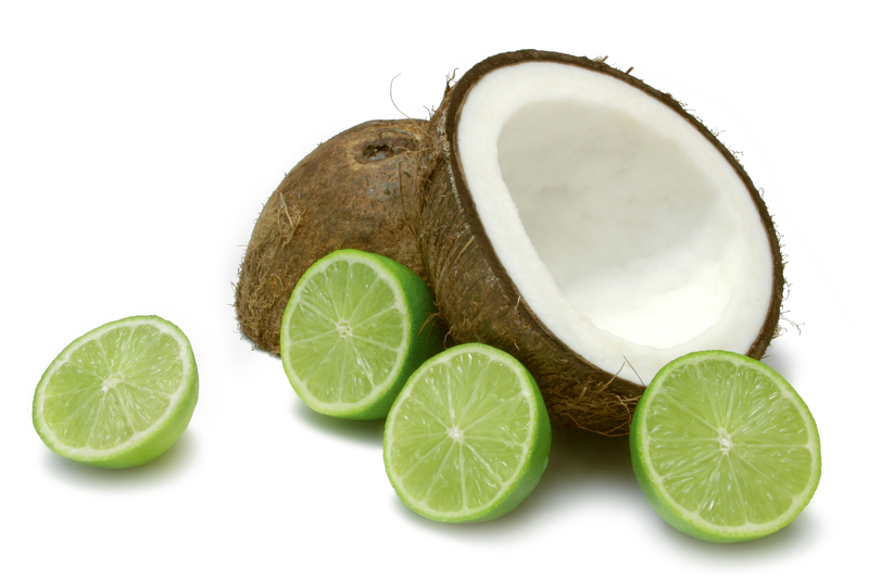 Coconut Oil and Lime juice