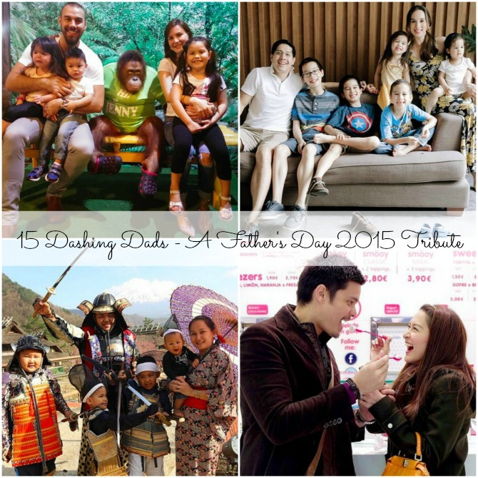 15 Dashing Dads - A Father's Day 2015 Tribute