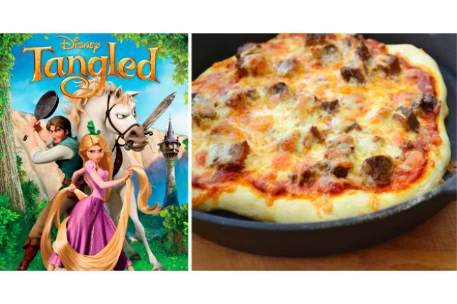 Cast Iron Pizza with Tangled