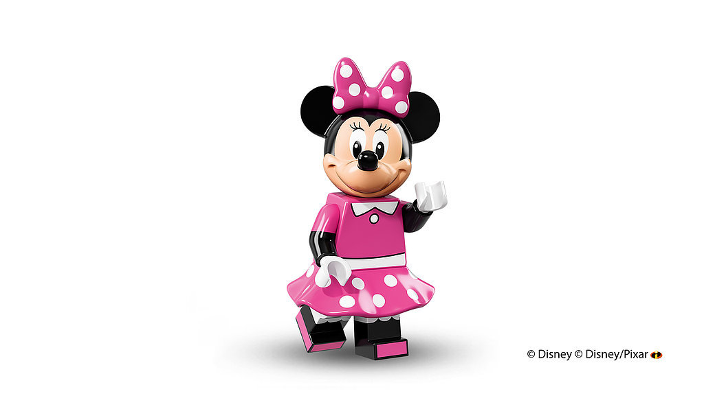Don't forget his ever-present partner: Minnie Mouse