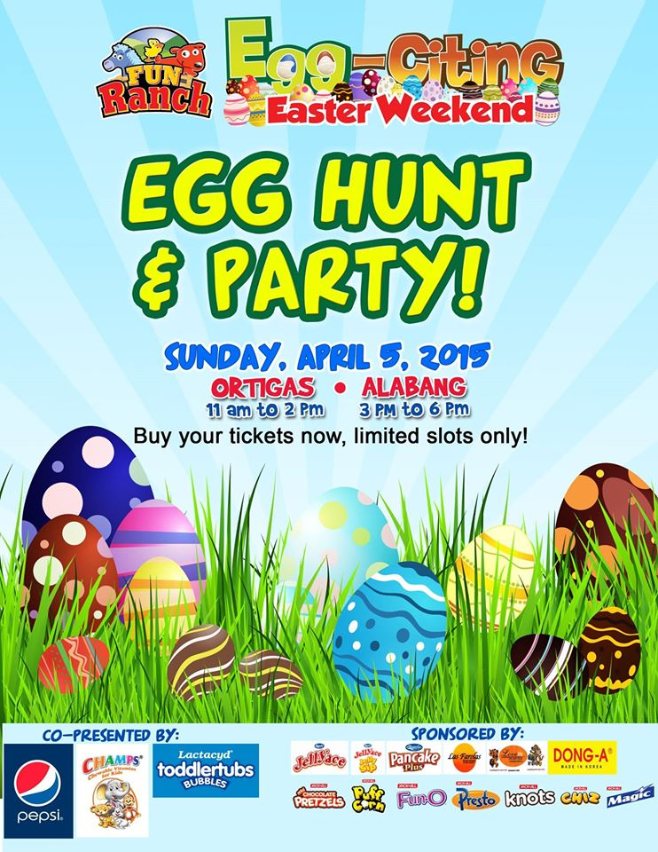 Egg-citing Easter weekend at Fun Ranch