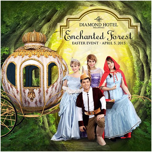 Enchanted Forest Easter Event at the Diamond Hotel