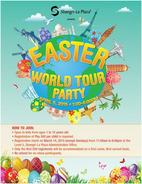 Easter World Tour Party at Shangri-La Plaza