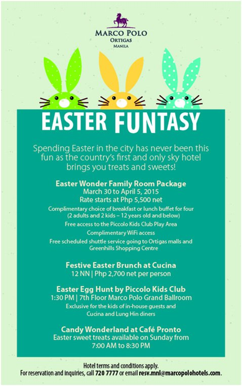 Easter Funtast at the Marco Polo