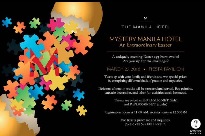 The Manila Hotel's Easter Mystery