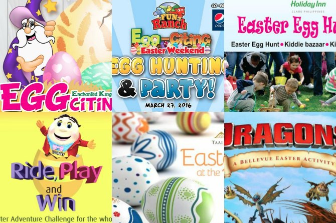 2016 Easter celebrations in Alabang and outside of town