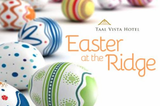 Taal Vista Hotel's Easter at the Ridge