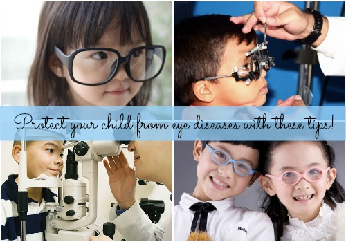 Protect your child from eye diseases with these tips!