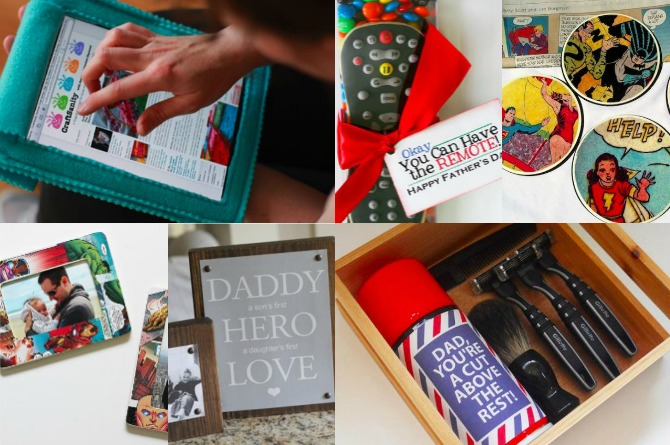 20 Awesome Father's Day gifts kids can make themselves