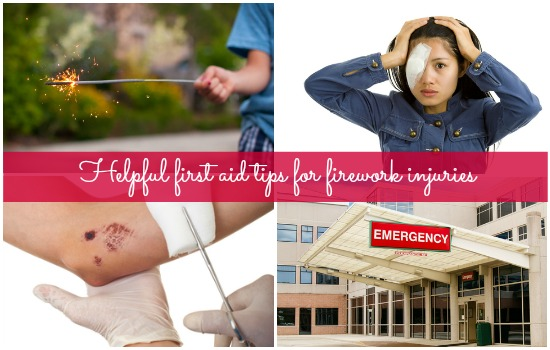 First aid for firework injuries and other New Year's Eve emergency cases