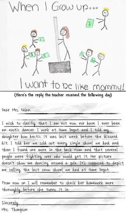 Let\'s hope we never have to send a note like this.