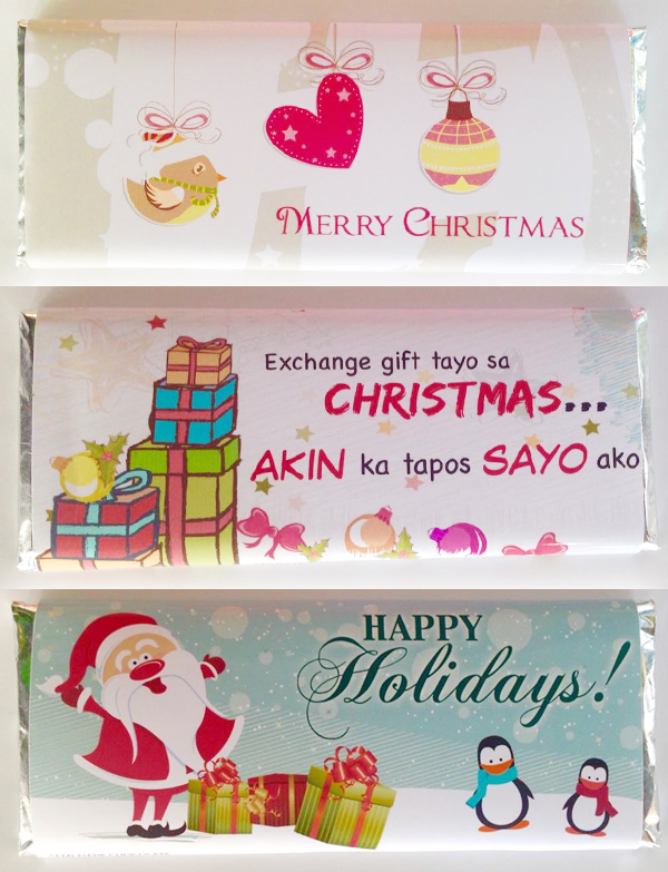 3. Personalized chocolate bars from Unit16Sweets