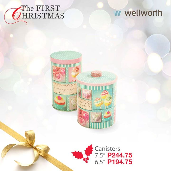 12. Decorative canisters from Wellworth Department Store (PHP194.75 and PHP 244.75)
