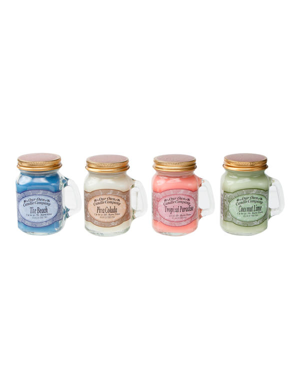 15. Mini Mason jar candles from Robinson's Department Store (PHP 475 for a set of 4)
