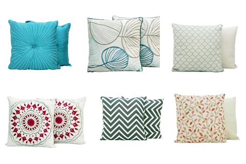 1. Mandaue Foam throw pillows (PHP 230 – PHP 470)
