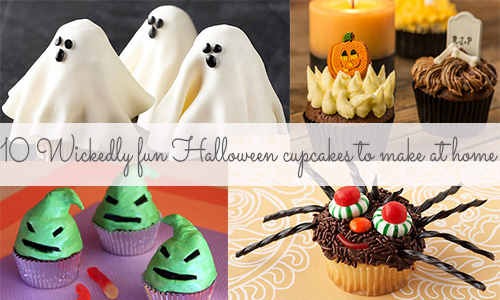 10 wickedly fun Halloween cupcakes to make at home