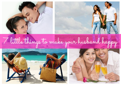 7 tips for a happy marriage: How to make your husband happy
