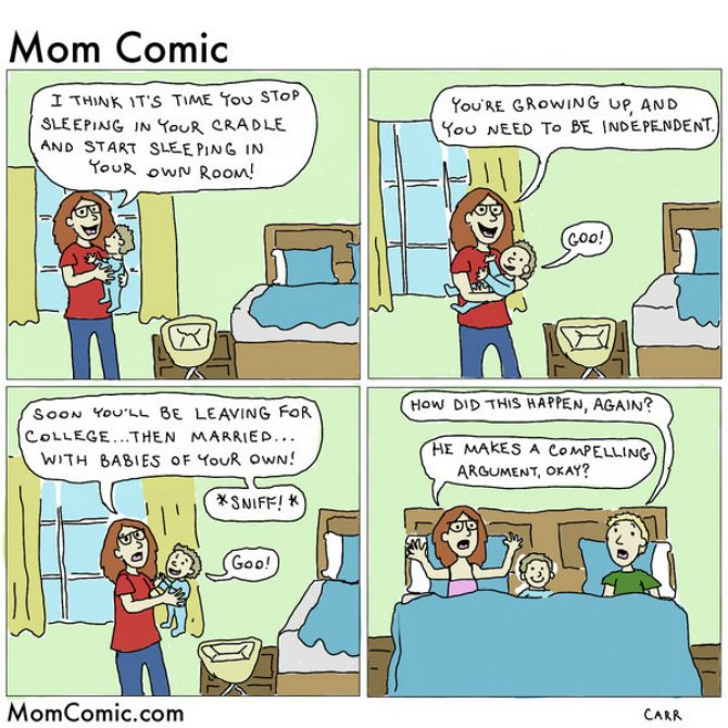 15 Hilarious mom comics prove parenting is tougher than it looks