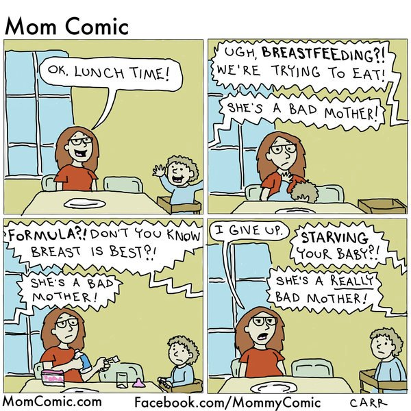 Sometimes moms just can't catch a break