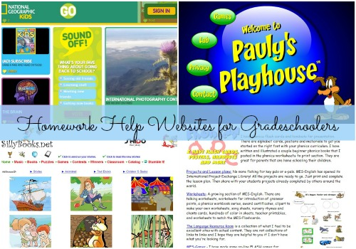 Homework help sites for parents