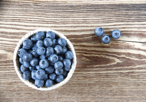 7 weeks – a blueberry