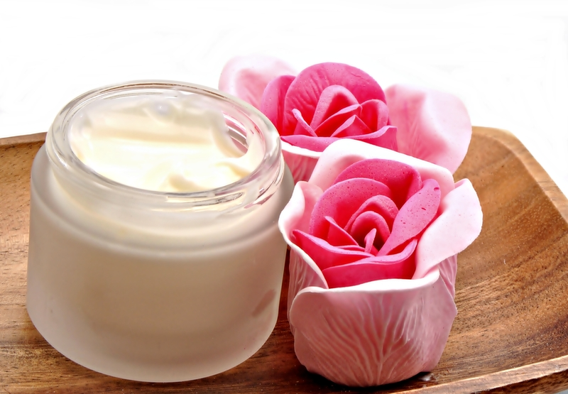 Instead of using deodorants and scented sticks, go for scented creams