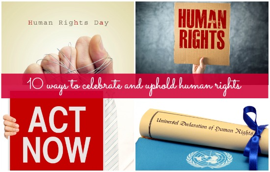Do something to make a difference this Human Rights Day
