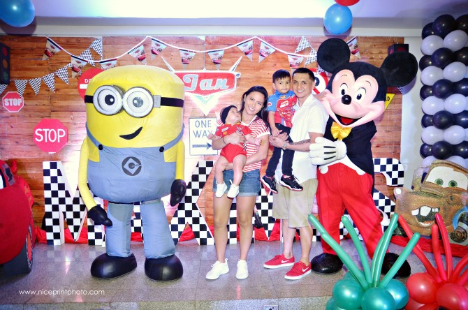 Minion and Mickey were on the guest list, too!