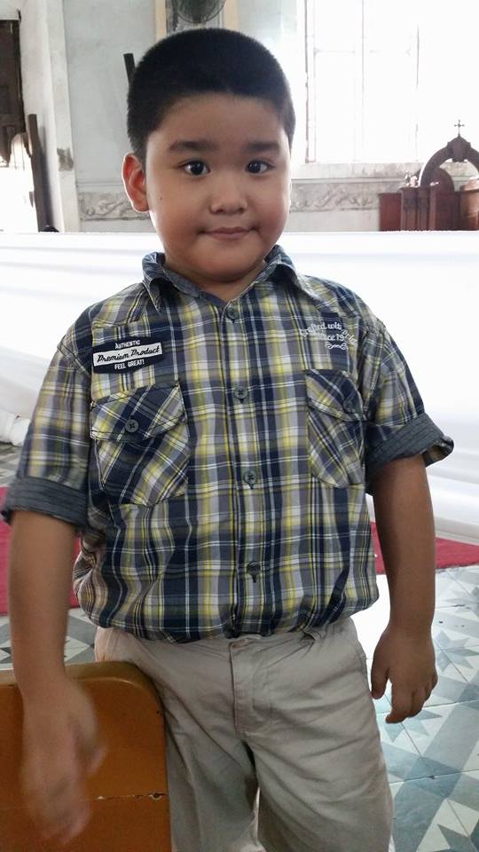 Vincent Joaquin I. Torres, 7 years old